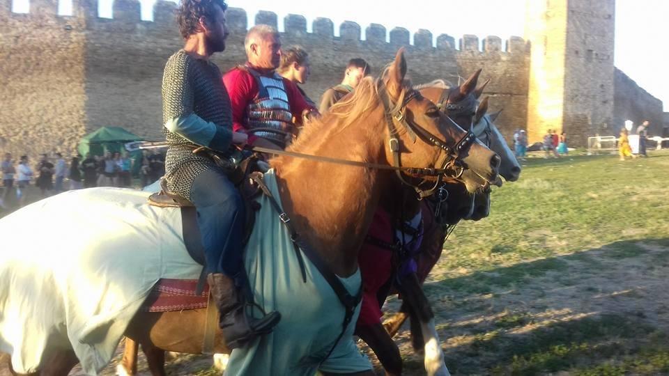 В старинной крепости под Одессой рубились могучие воины (ФОТО, ВИДЕО), фото-9