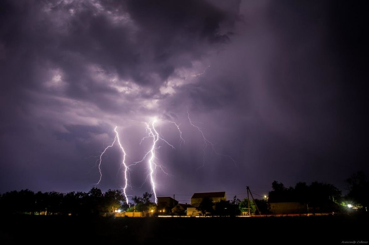 Впечатляет: как по Одессе молнии лупили (ФОТО), фото-9