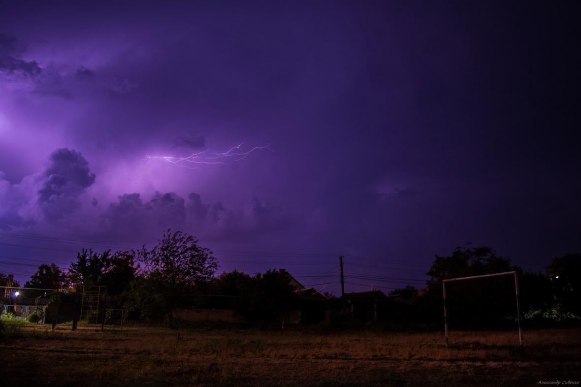 Впечатляет: как по Одессе молнии лупили (ФОТО), фото-4