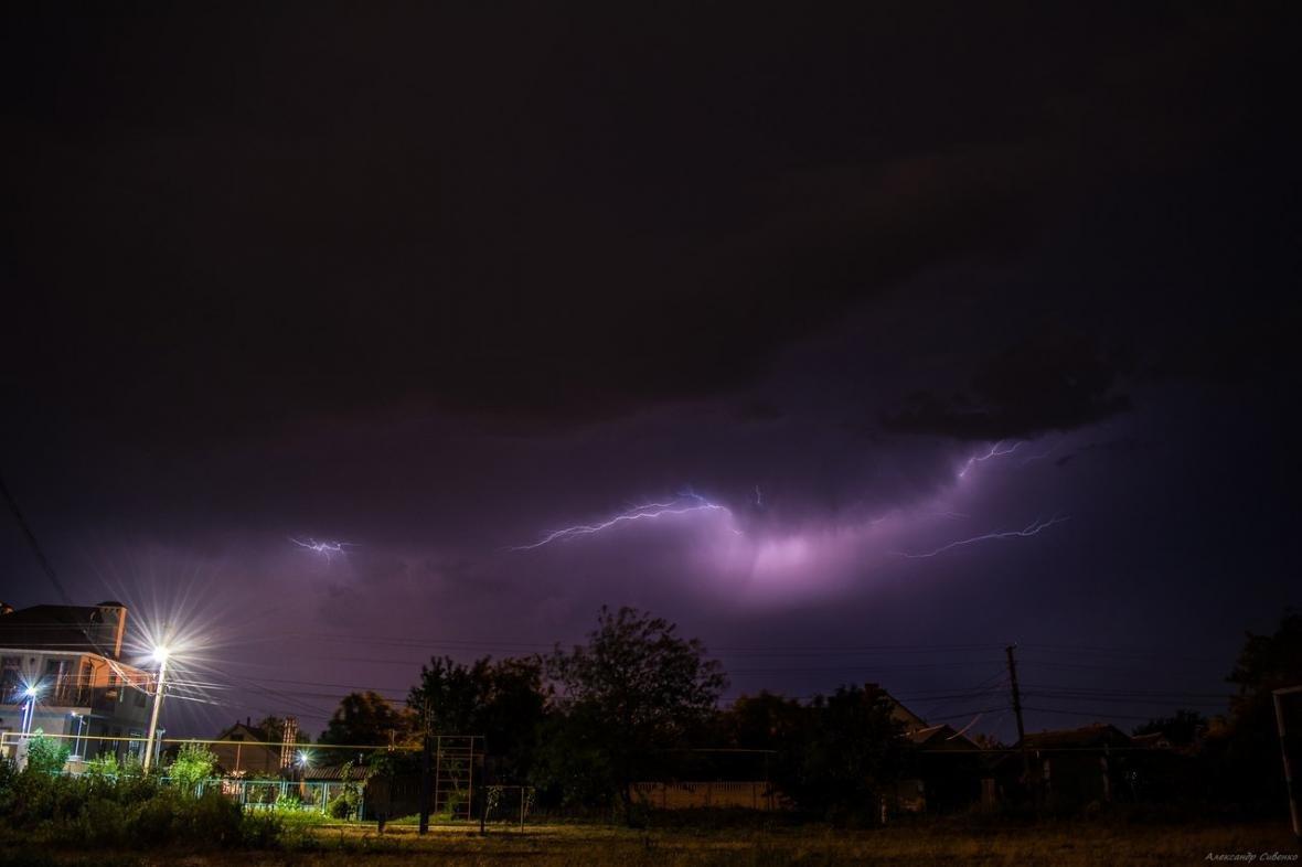 Впечатляет: как по Одессе молнии лупили (ФОТО), фото-10