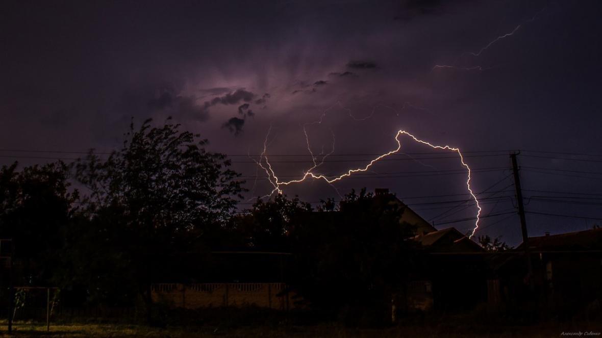 Впечатляет: как по Одессе молнии лупили (ФОТО), фото-5