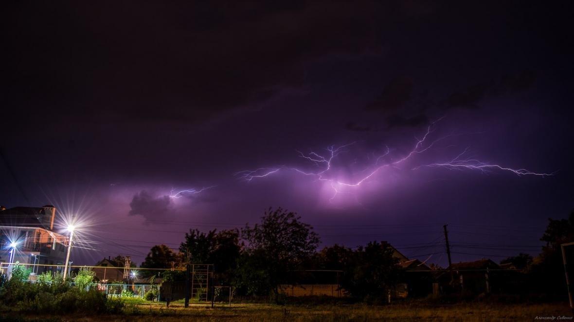 Впечатляет: как по Одессе молнии лупили (ФОТО), фото-6