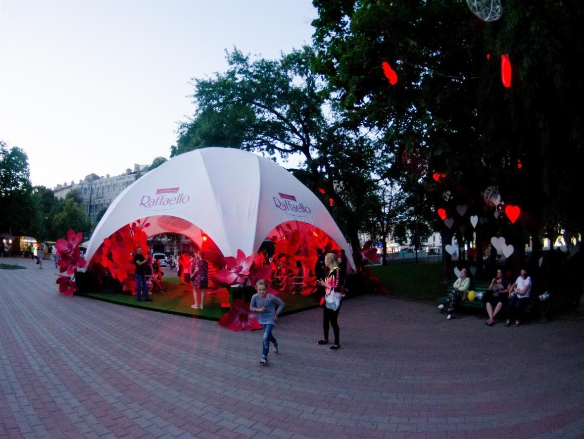 На Соборной площади появилась романтическая аллея, фото-1