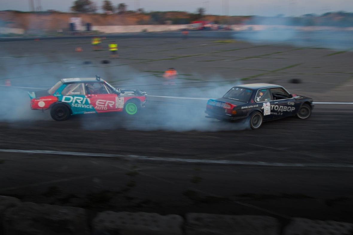 Дым и рев гонки: одесских дрифтеров испытали на скорость (ФОТО), фото-8