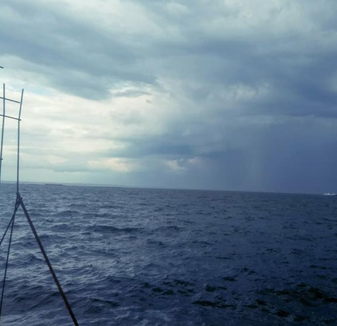 Над Одессой в небе увидели в облаках огромный глаз, - ФОТО, фото-1