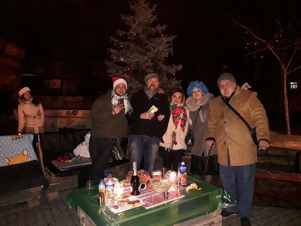Новый год праздновали в одесском Летнем театре, - ФОТО , фото-2