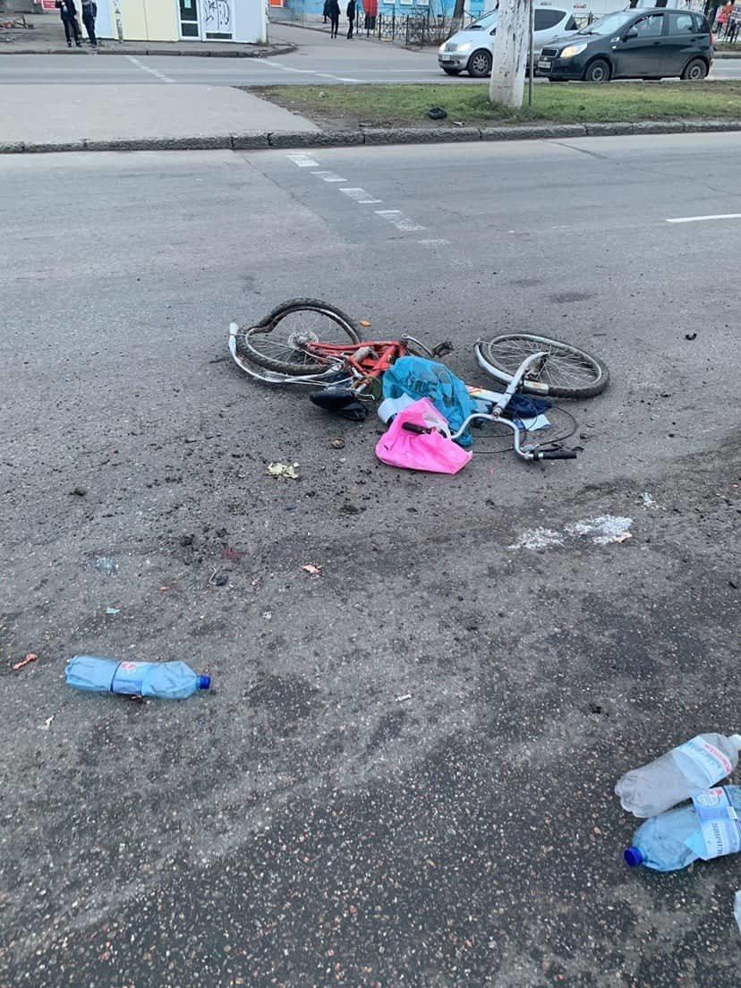 В Одесса фура сбила велосипедистку насмерть, - ФОТО, фото-1