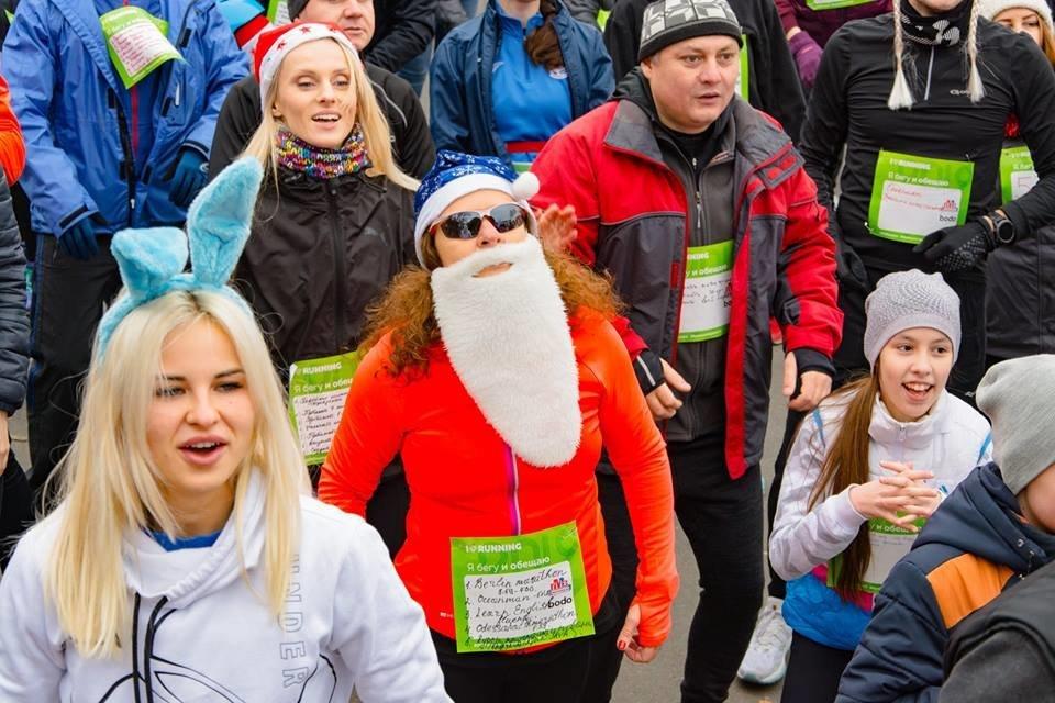 Забегом по похмелью: одесситы устроили новогодний забег на 2019 метров, - ФОТО, фото-17