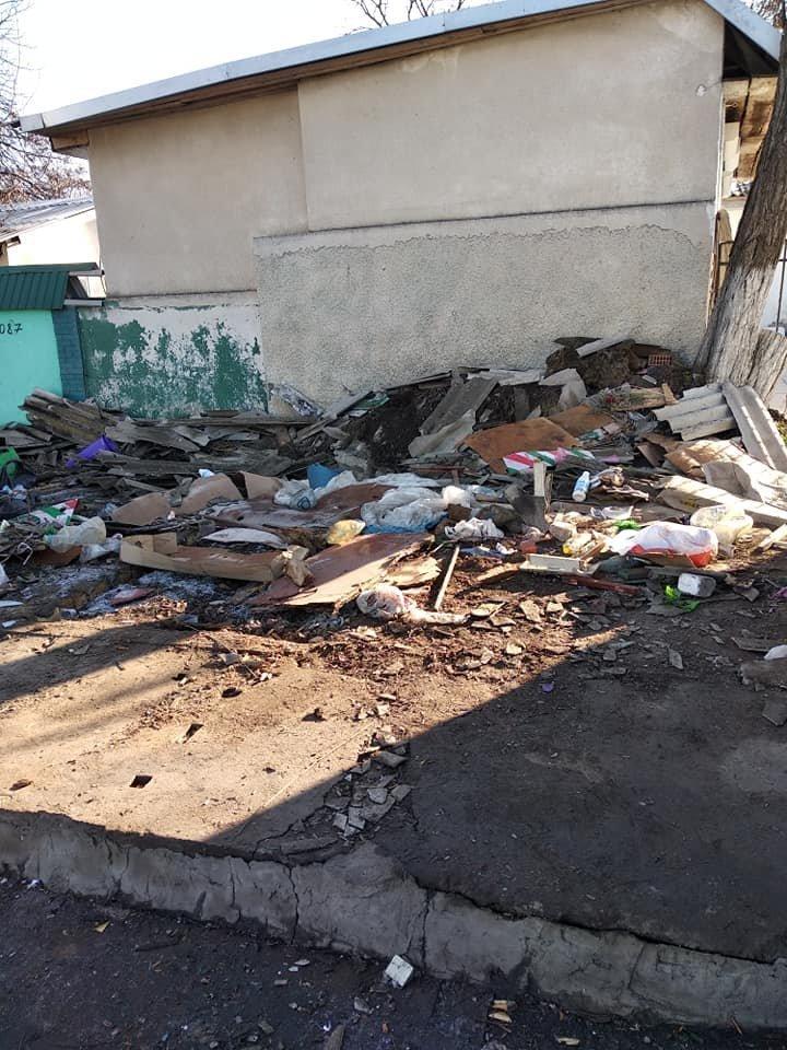 Возле Таировского кладбища в Одессе на месте рынка остались развалины, - ФОТО, фото-2