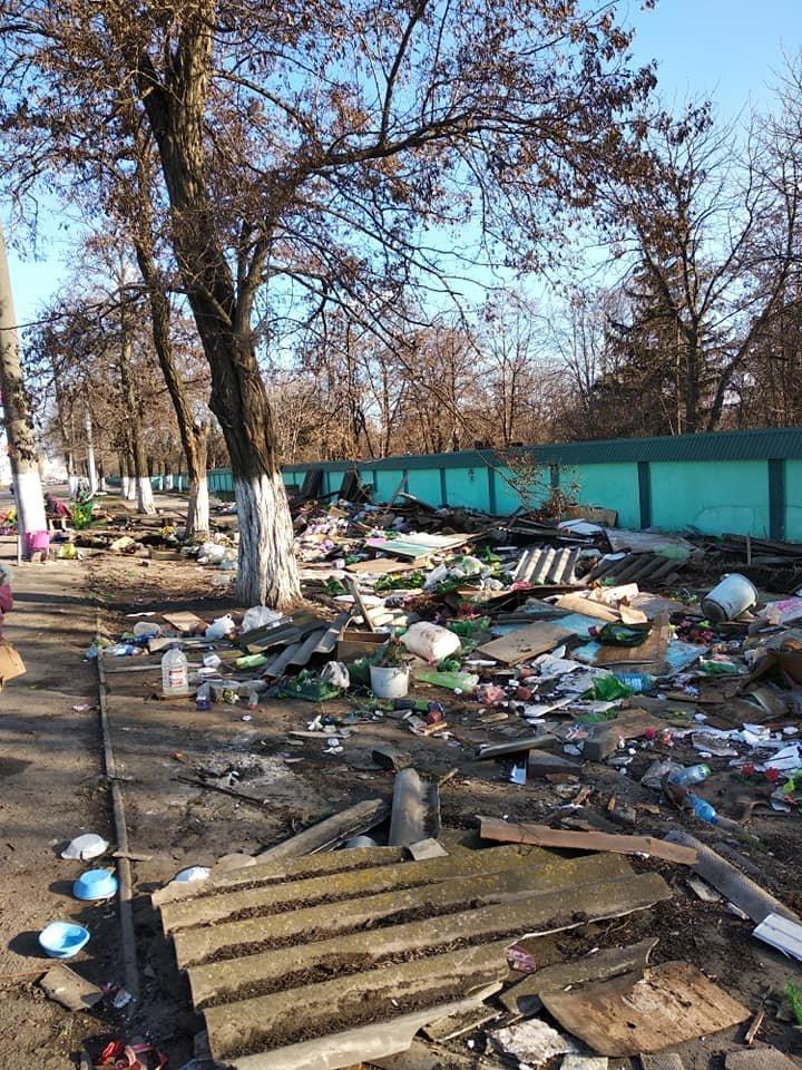 Возле Таировского кладбища в Одессе на месте рынка остались развалины, - ФОТО, фото-3