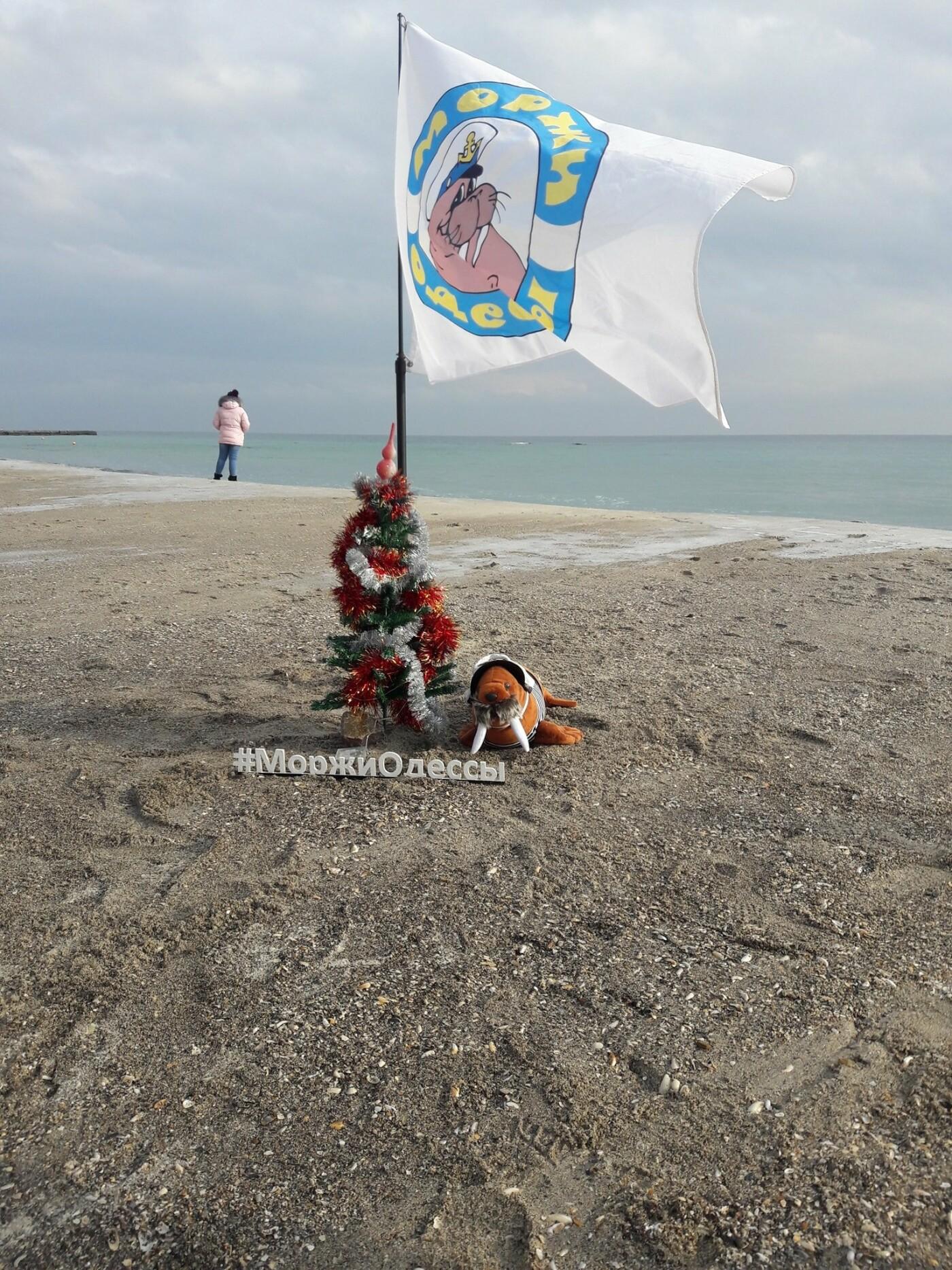 Одесситы отметили Рождество купанием в море, - ФОТО, фото-6