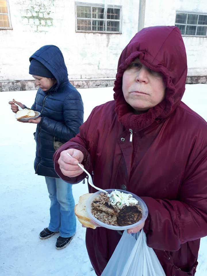 Чай, еда и песни под гитару: в Одессе установили пункт обогрева, - ФОТО, фото-4, Фото: Федор Герасимов