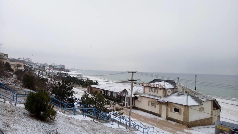 Восхитительный зимний пляж показал одессит в соцсетях, - ФОТО, фото-5, Фото: Иван Бошку