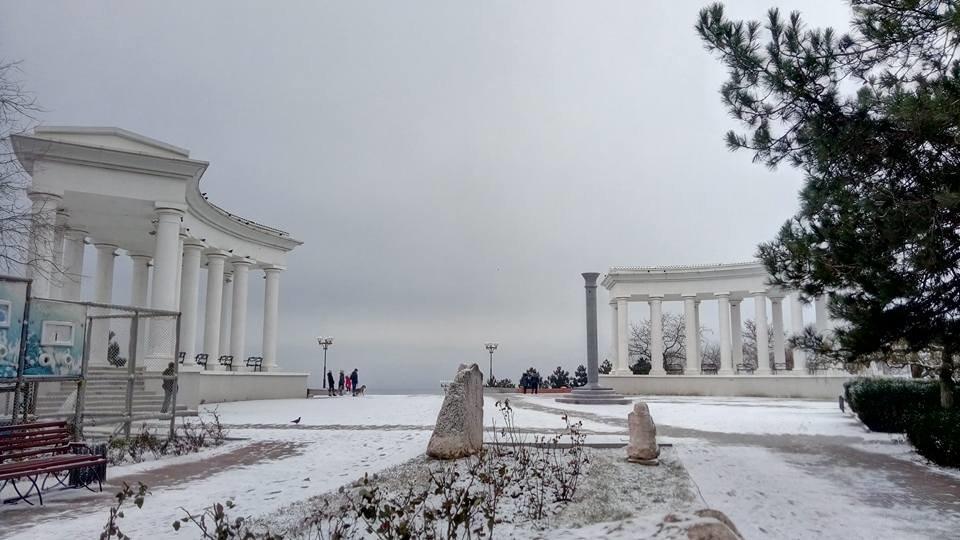 Восхитительный зимний пляж показал одессит в соцсетях, - ФОТО, фото-14, Фото: Иван Бошку