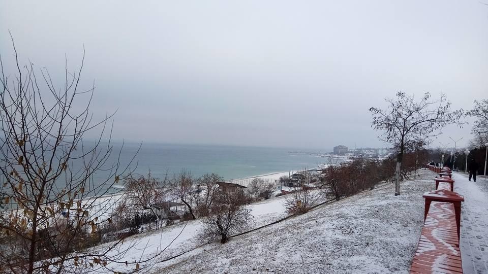 Восхитительный зимний пляж показал одессит в соцсетях, - ФОТО, фото-10, Фото: Иван Бошку