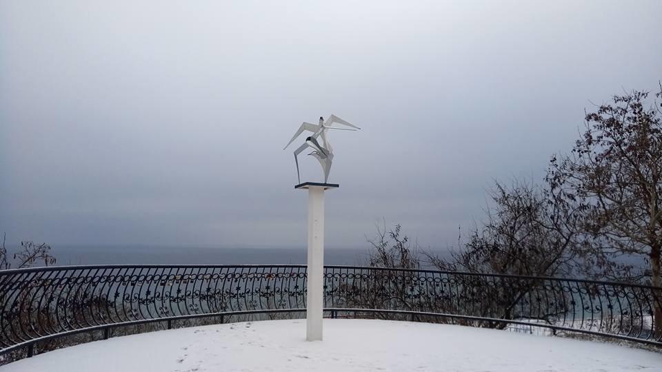 Восхитительный зимний пляж показал одессит в соцсетях, - ФОТО, фото-3, Фото: Иван Бошку