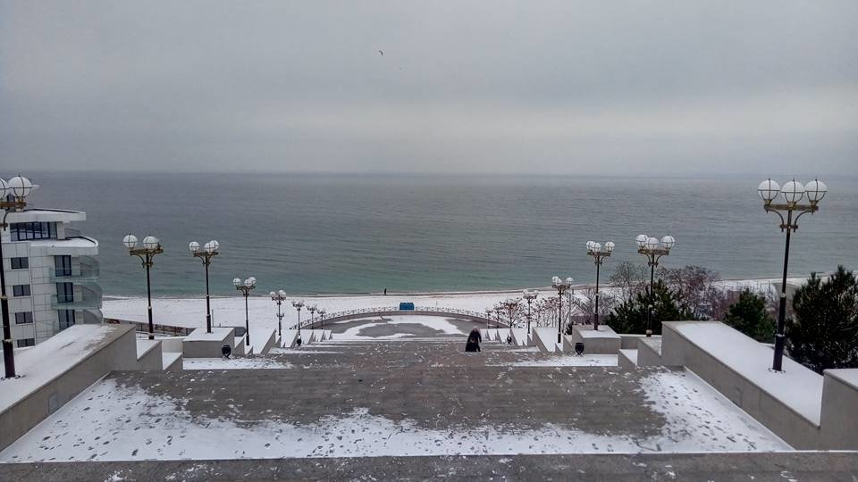 Восхитительный зимний пляж показал одессит в соцсетях, - ФОТО, фото-8, Фото: Иван Бошку