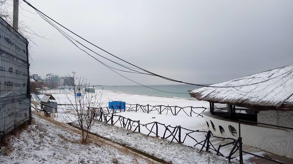 Восхитительный зимний пляж показал одессит в соцсетях, - ФОТО, фото-13, Фото: Иван Бошку