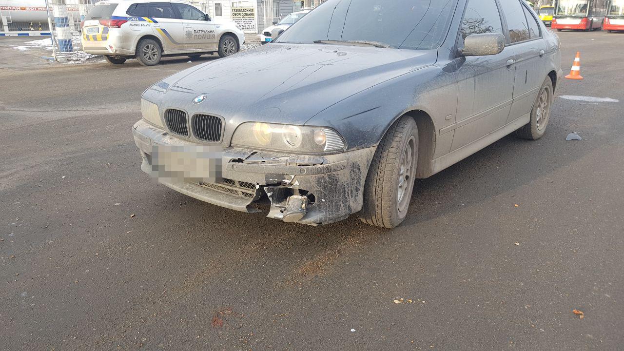 В Одессе водитель BMW наехал на велосипедиста, - ФОТО, фото-1, Фото: Патрульная полиция