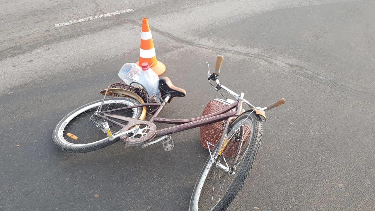 В Одессе водитель BMW наехал на велосипедиста, - ФОТО, фото-2, Фото: Патрульная полиция