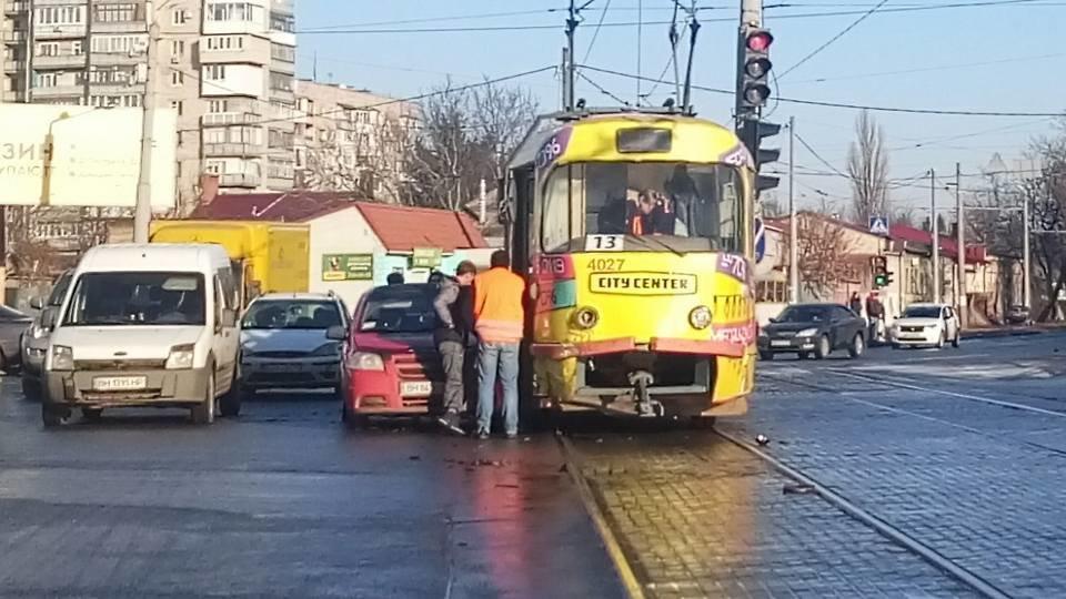 В Одессе произошло очередное ДТП с трамваем, - ФОТО, фото-2, Фото: Иван Бошку
