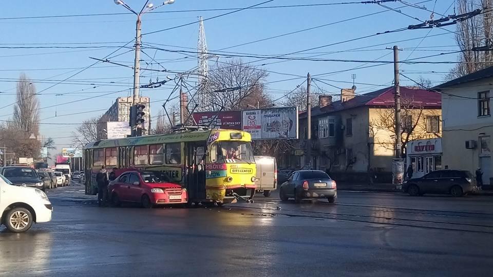 В Одессе произошло очередное ДТП с трамваем, - ФОТО, фото-1, Фото: Иван Бошку