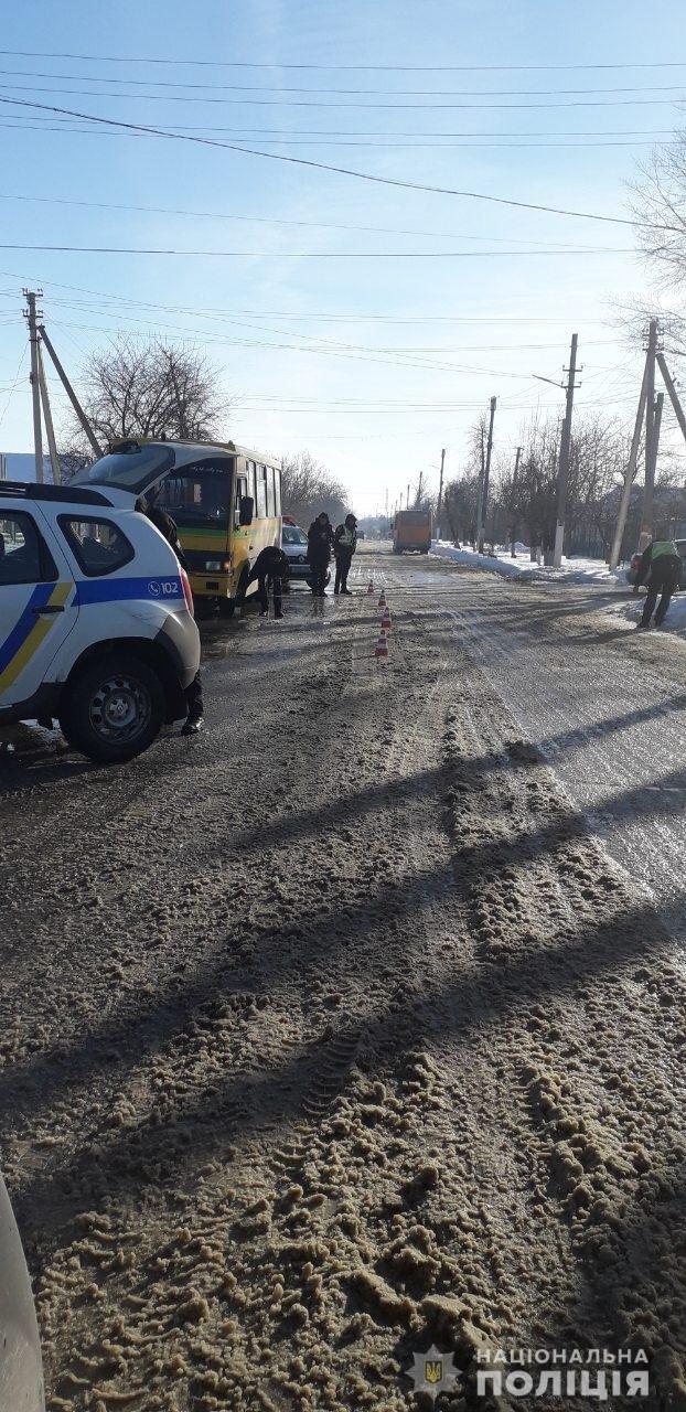 В Одесской области маршрутчик наехал на пешехода, - ФОТО, фото-1