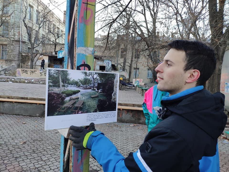"Одесские активисты ""освежают"" Летний театр, - ФОТО, фото-14, Фото: Юрий Дьяченко"
