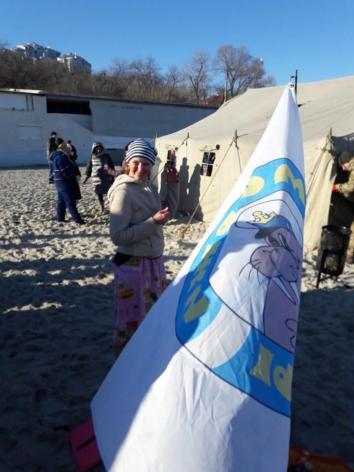 """Моржи Одессы """"покрестились"""" в море, - ФОТО, ВИДЕО, фото-3, Фото: """"Моржи Одессы"""""""