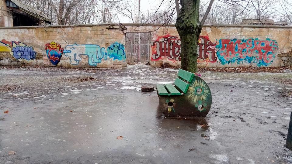 Одессит показал площадку, на которой нельзя гулять детям, - ФОТО, фото-10, Фото: Иван Бошку