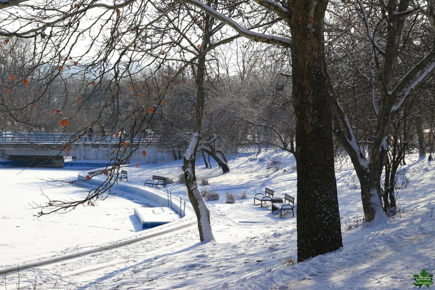 Одессит показал зиму в парке Победы, - ФОТО, фото-14, Фото: Владислав Балинский