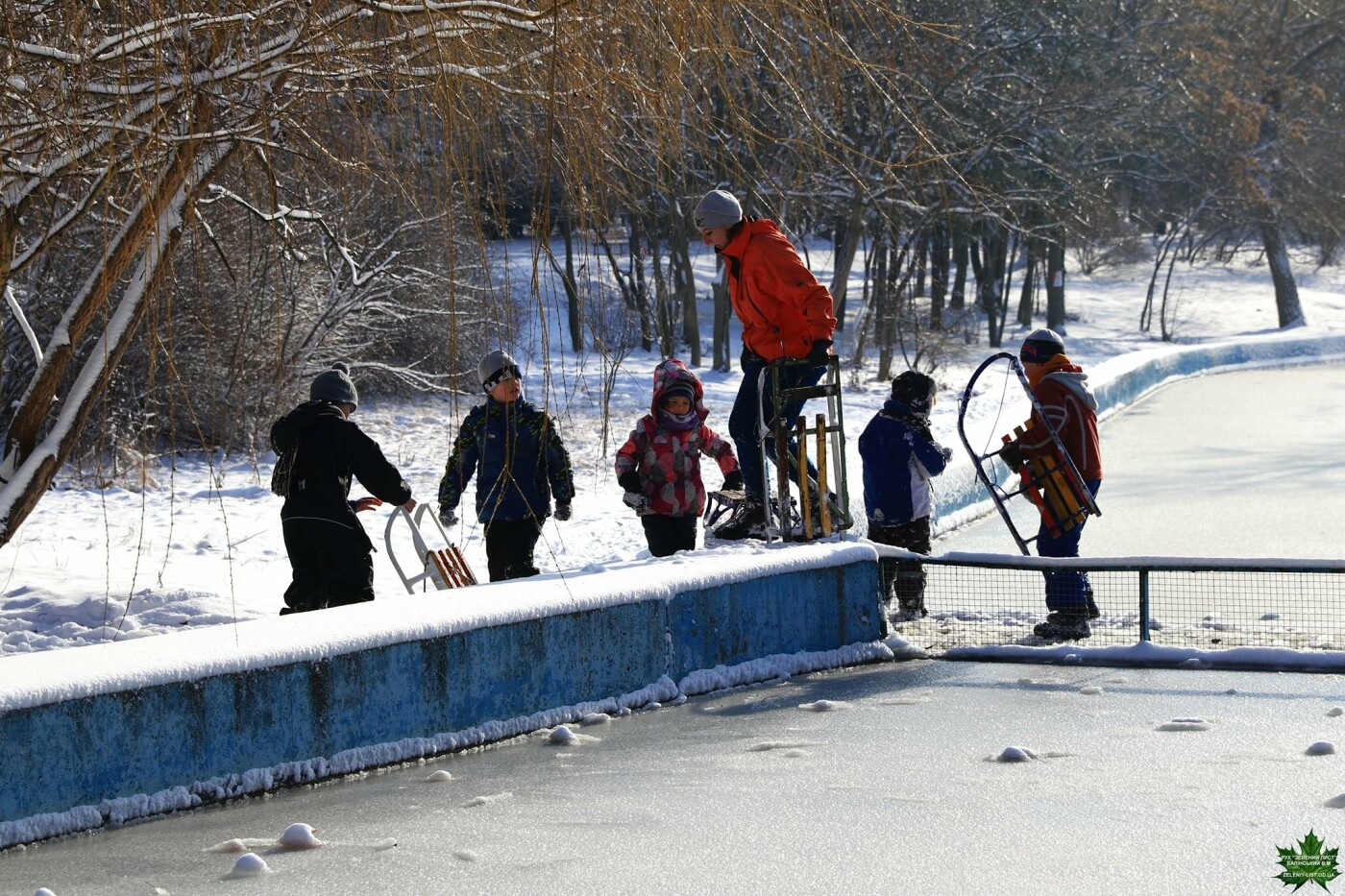 Одессит показал зиму в парке Победы, - ФОТО, фото-13, Фото: Владислав Балинский