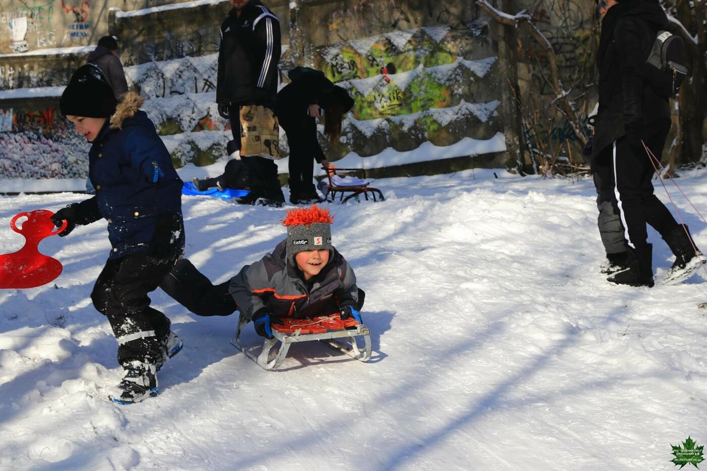 Одессит показал зиму в парке Победы, - ФОТО, фото-4, Фото: Владислав Балинский