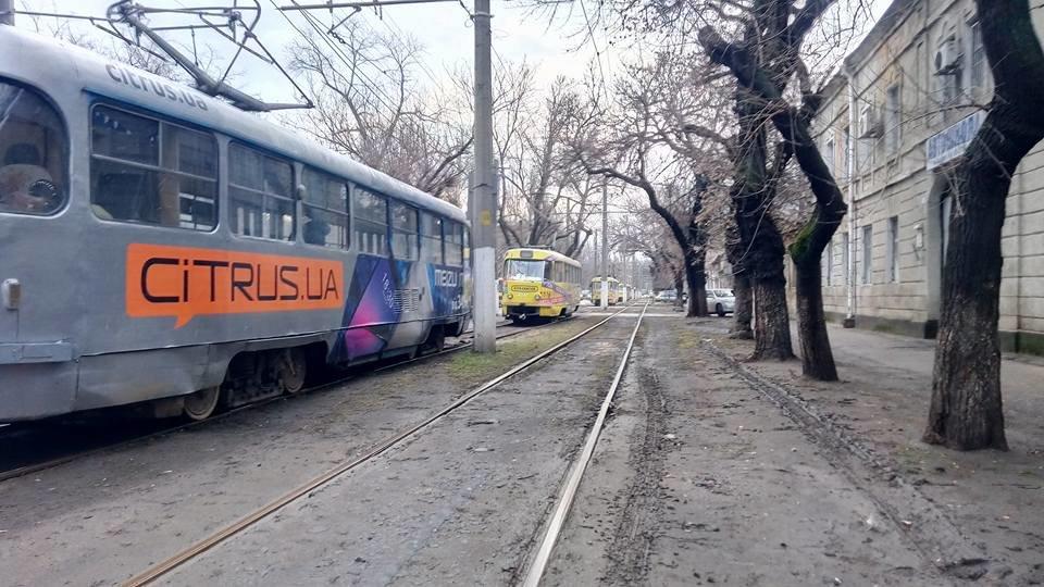 Утром в Одессе поломался трамвай, - ФОТО, фото-2, Фото: Иван Бошку