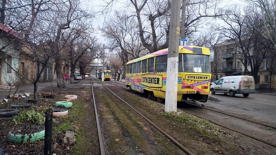 Утром в Одессе поломался трамвай, - ФОТО, фото-4, Фото: Иван Бошку