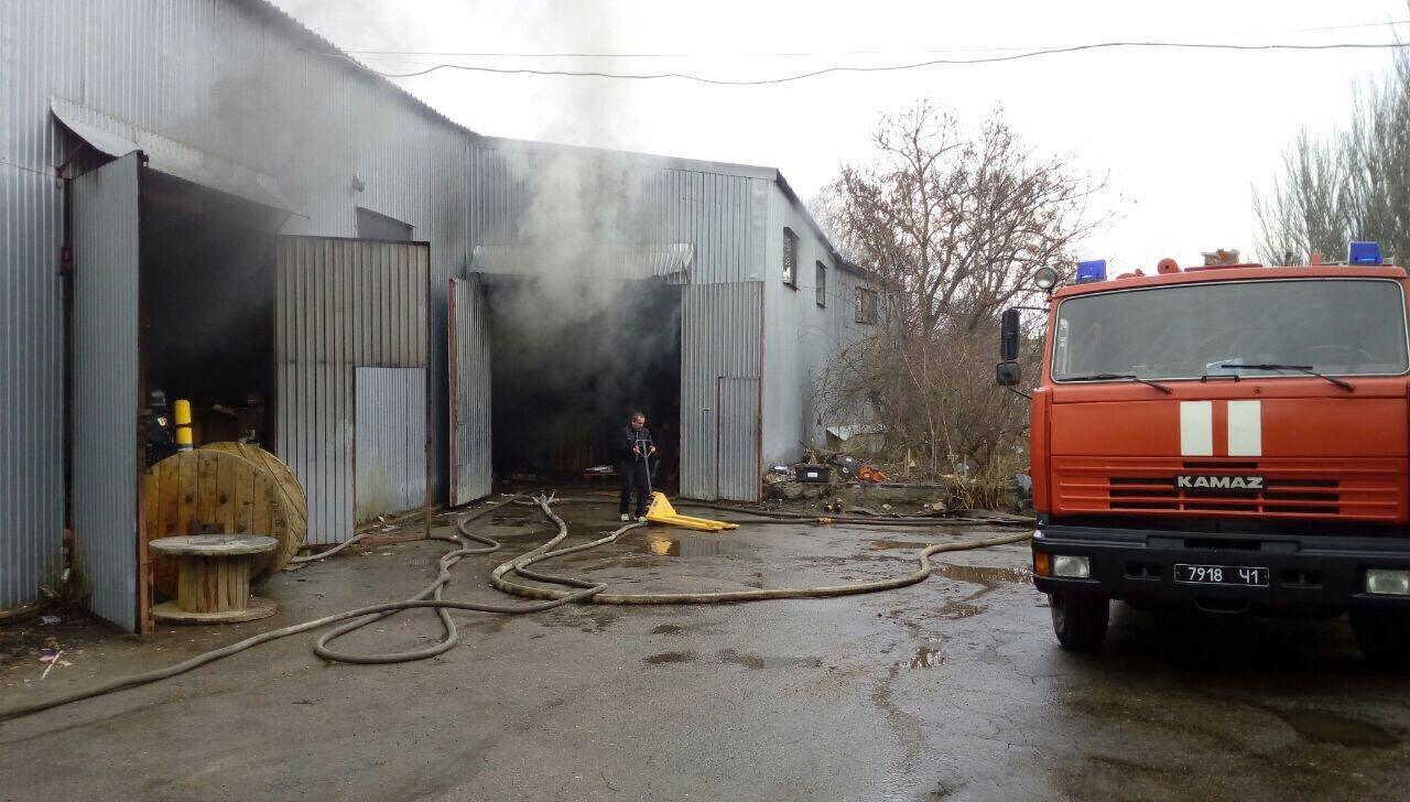 В Одессе горел завод полимерных изделий, - ФОТО, фото-4, Фото: ГСЧС