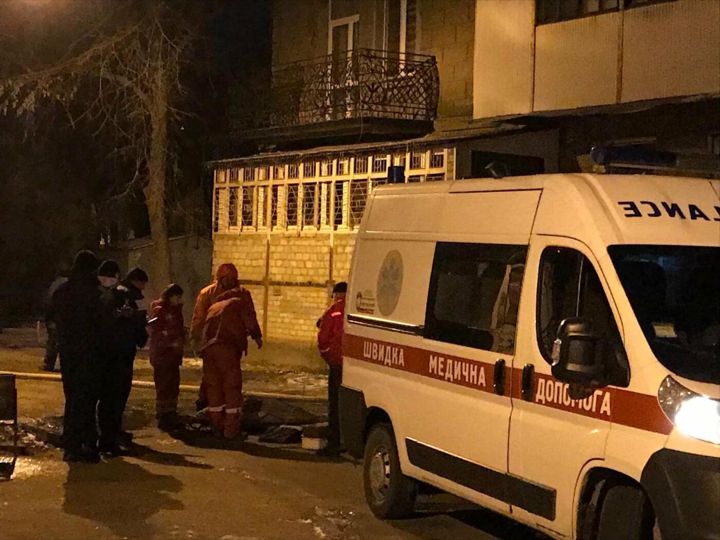 ВОдессе впожаре погибла женщина