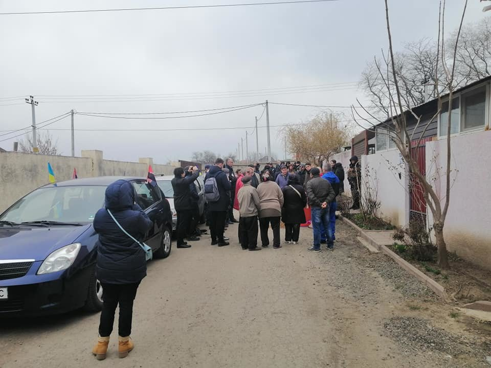 "Одесские активисты построили ""Догтаун"" у дома депутатши, - ФОТО, ВИДЕО, фото-2, Фото: Катерина Маденс"