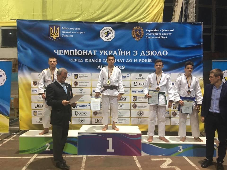Чемпионат Украины по дзюдо до 16 лет