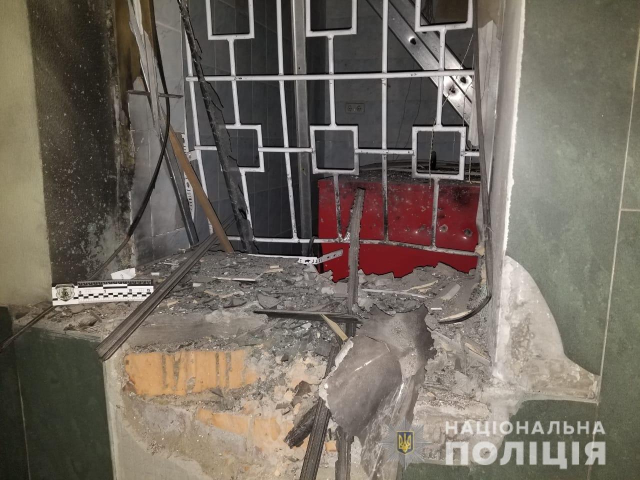 Взрыв в Одессе сегодня ночью: появились фото с места происшествия, фото-1, Фото: Нацполиция