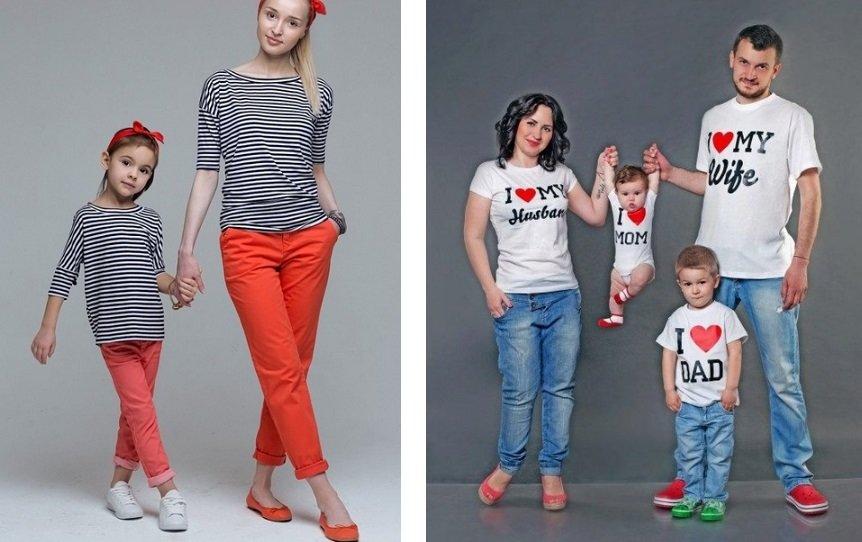 Модная одежда для семьи на issaplus