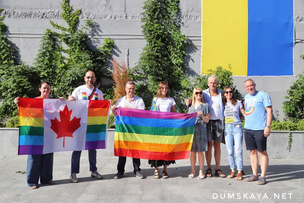 """""""Наша позиция - это свобода"""": в Одессе начинается Марш равенства, - ФОТО, фото-2, Фото: Думская"""