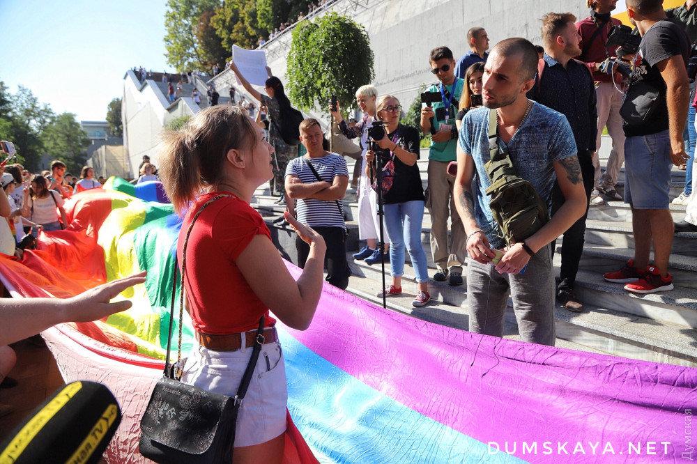 """""""Наша позиция - это свобода"""": в Одессе начинается Марш равенства, - ФОТО, фото-3, Фото: Думская"""