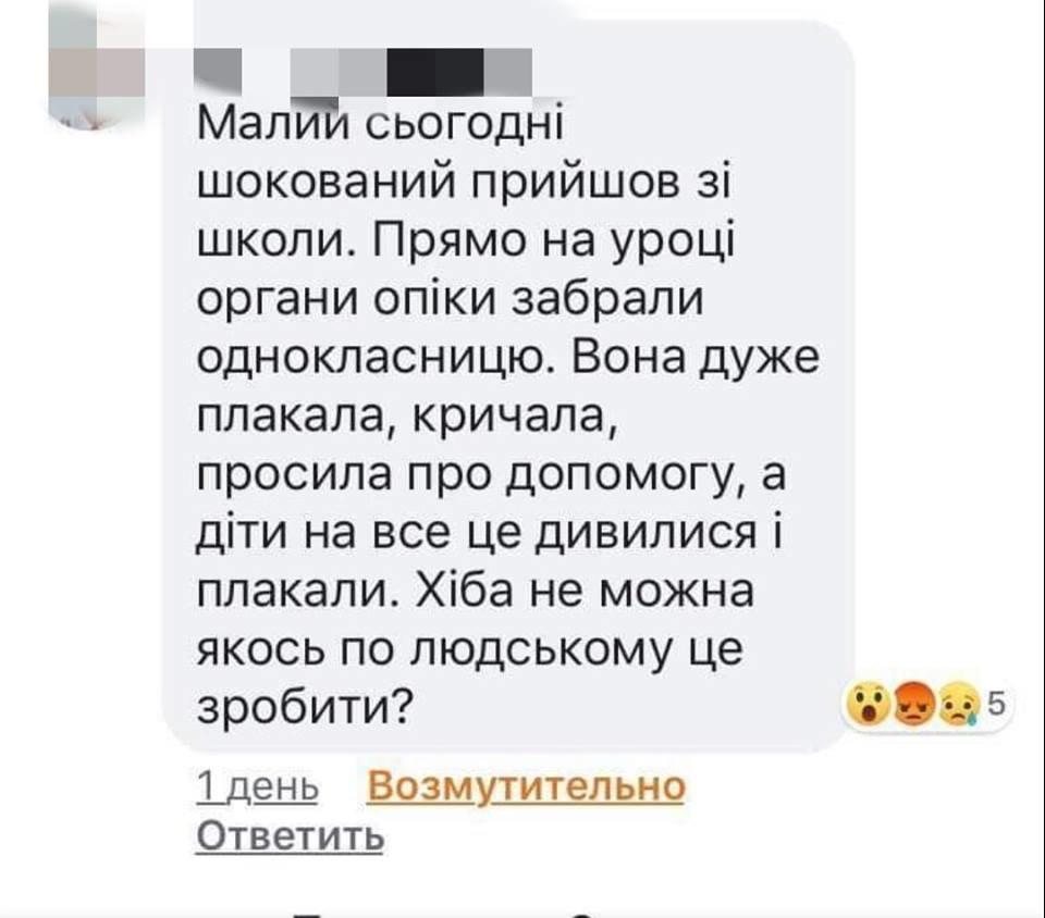 Дети плакали и били сотрудника органов опеки: в Одессе девочку из семьи изъяли на уроке, фото-1