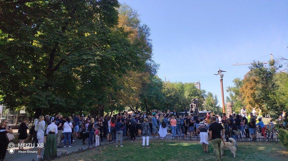 """""""Они не куклы"""": одесситы вышли на марш за права животных, - ФОТО, фото-9"""