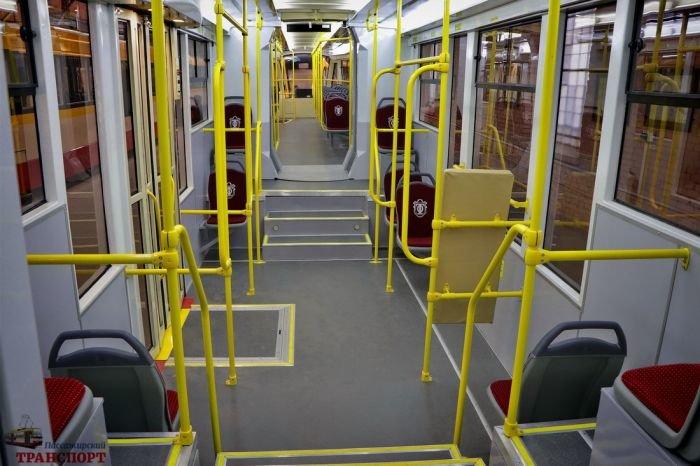В Одессе презентовали первый многосекционный трамвай, фото-4