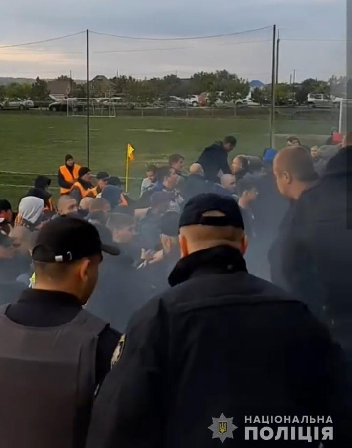 Матч с огоньком: одесские полицейские задержали 9 футбольных болельщиков, - ФОТО, фото-1