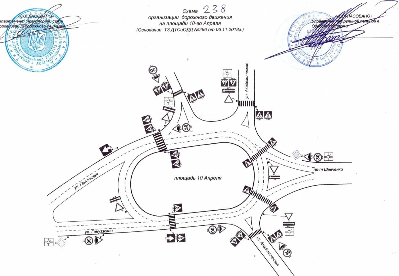 Одна из площадей Одессы больше не будет круговой, - ФОТО, фото-1