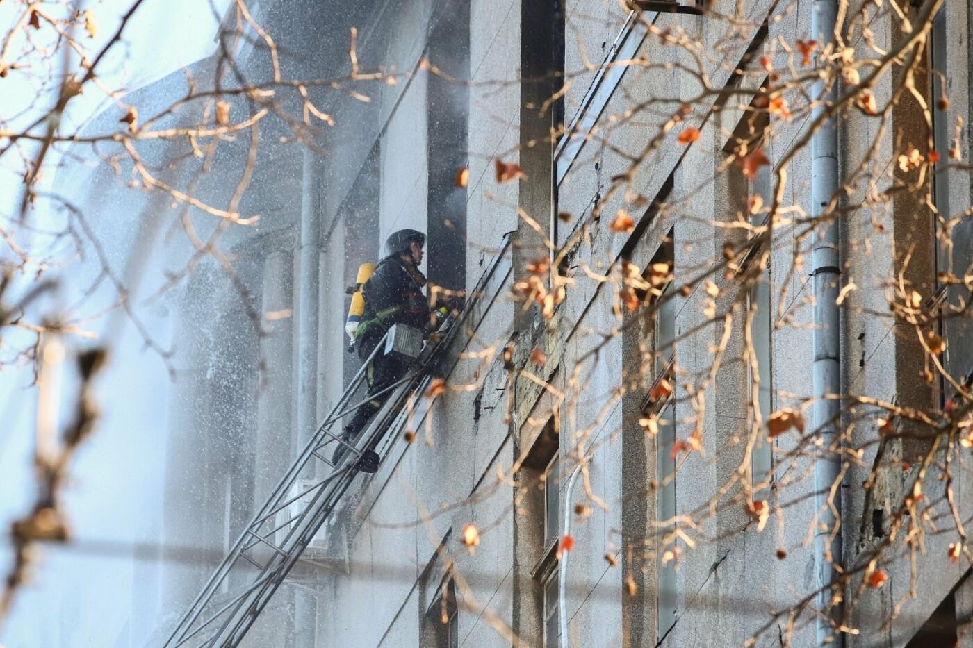 Пожар на Троицкой 4 декабря