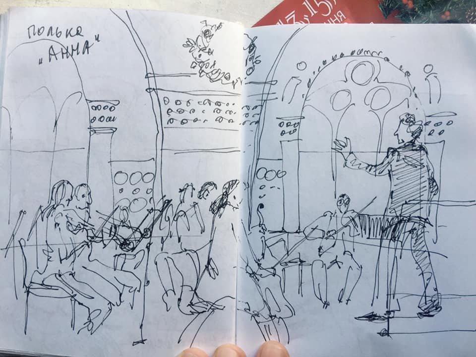 Рисунки Ирины Потапенко